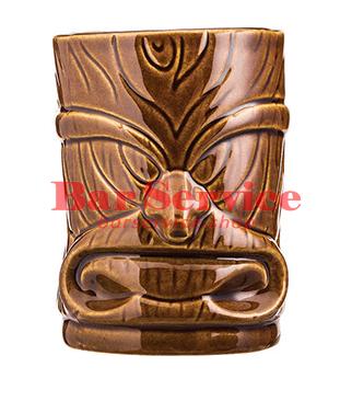 """Стакан д/коктейлей """"Тики"""";керамика 450мл, коричневый. в Благовещенске"""