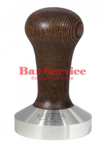 Темпер Мотта 58 мм. (выпуклый) с деревянной ручкой в Благовещенске