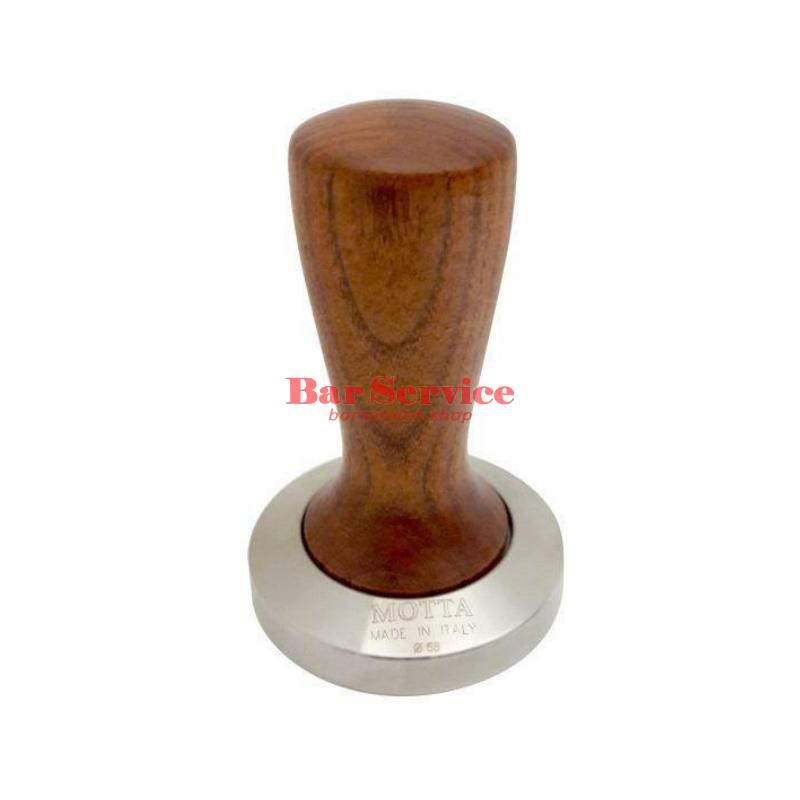 Темпер Мотта SLIM 58 мм. (плоский) рукоятка из дерева в Благовещенске