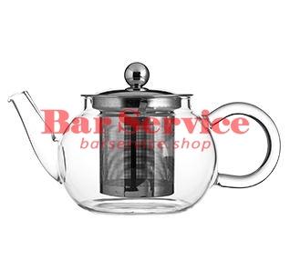 Чайник «Проотель»;  термост.стекло;  0,6л;  D=78мм в Благовещенске