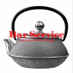 Чайник с ситечком; чугун; 650мл; D=8.7,H=9.4,L=14.5см черный в Благовещенске