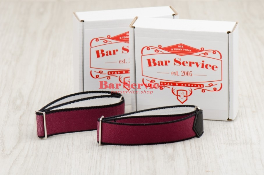 Армбенды, цвет бордо. Bar Service в Благовещенске