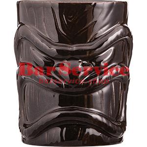 Стакан д/коктейлей «Тики», керамика; 450мл; коричнев. в Благовещенске