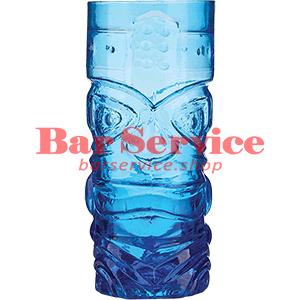 Стакан д/коктейлей, стекло «Тики» синий в Благовещенске