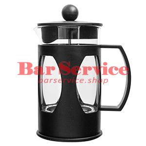 Чайник-кофейник Черный Объем: 600 мл. (френч пресс) в Благовещенске