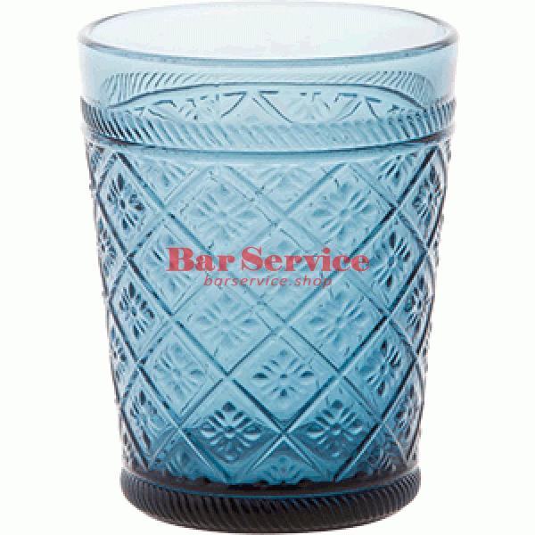Стакан Глория; стекло; 350мл; синий в Благовещенске
